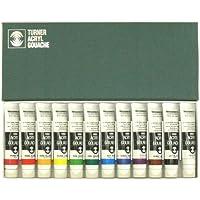 ターナー色彩 アクリルガッシュ 12色セット AG02012C 20ml(6号)