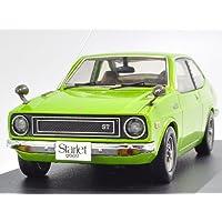イクソ 1/43 TOYOTA Starlet 1200 ST 1973 Light Green Metallic 完成品