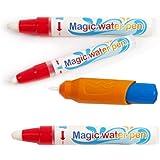 PrimeIRIS Aqua Magic Markers No Mess Coloring with Water Drawing Painting Brush pens Aqua Doodle pens Accessories