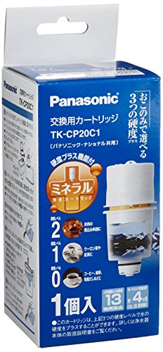 パナソニック 浄水器カートリッジ ポッド型用 1個 TK-CP20C1