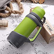 High Quality Vacuum Flasks Thermoses Stainless Steel 1.2L 1L Big Size Outdoor Travel Cup Thermos Bottle Thermal Coffee Thermoses Cup