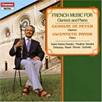 French Music for Clarinet and Piano (1989-05-04)