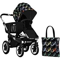 Bugaboo Donkey Accessory Pack - Andy Warhol Marilyn/Black (Special Edition) by Bugaboo [並行輸入品]