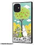 iPhone 2019年秋モデル 6.1inch /ムーミン/耐衝撃ハイブリッドケース KAKU /コミック_3 IQ-AP21K3TB/MT011