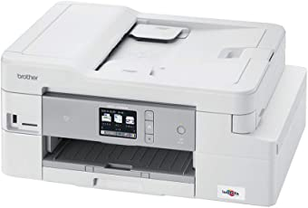ブラザー 大容量インク型 プリンター A4 インクジェット複合機 MFC-J1500N (FAX/ADF/有線・無線LAN/手差しトレイ/両面印刷)
