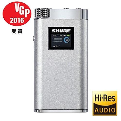 Incorporated SHURE ヘッドホンアンプ SHA900 ポータブル ハイレゾ対応 SHA900J-P