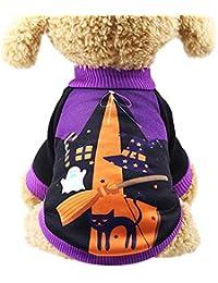犬の服 可愛い かぼちゃ ペットセーター ハロウィン人気 犬洋服Tシャツ 犬猫洋服 お出かけ ペット服 散歩 犬用コスチューム 仮装 変身服 スポーツ服 散歩 ペット用品 ハロウィンプレゼント