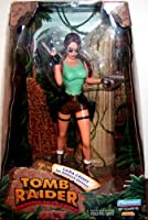 "Playmates 9"" Action Figure 72002 - Tomb Raider Lara Croft In Jungle Outfit"