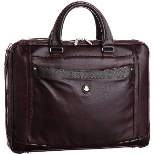[ウルティマ トウキョウ] ultima tokyo varietas クラウディオ ビジネスバッグ(B4サイズ・1気室・PCポケット付き・中仕切り付き) 48202 08 (ブラウン)