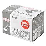 プラス ダブルクリップ極豆徳用パック CP-107-10P 35-469