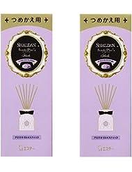 【まとめ買い】 シャルダン SHALDAN ステキプラス スティック 消臭芳香剤 部屋用 つめかえ イノセントライラックの香り 45ml×2個