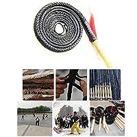 馬の鞭作物革と鞭の小道具ポ長鞭, ブラック鞭完全ハンドメイドと耐久性のあるクラック革ブルホイップ豪華な編みこみの馬の鞭 - パーフェクトのために働いて家畜やスポーツウィップクラッキング (Color : Black, Size : 200cm)