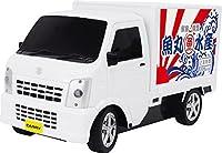 ラジコン RC スズキ キャリー SUZUKI CARRY 特装車 軽自動車 軽四 (ホワイト)