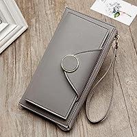 6dd34e0b4066 財布 女性の長いバックルの財布の学生のジッパーのハンドバッグクラシック二つ折り