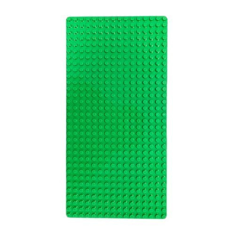 ブロック基礎板ペースプレート(ヂュプロ互換性同規格品)フレッシュグリーン [並行輸入品]