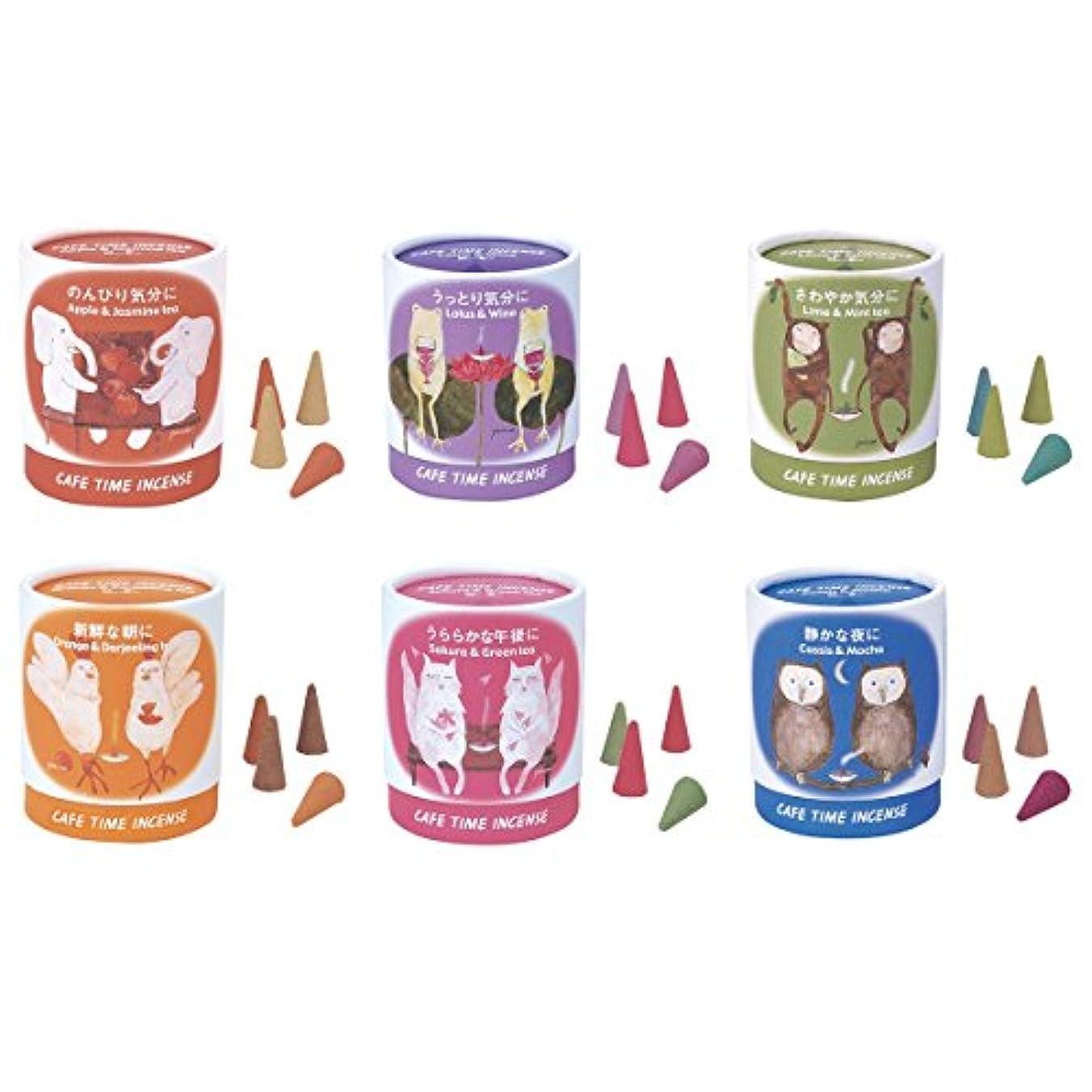 ベルベット毒リング日本香堂 カフェタイム インセンス 6種セット