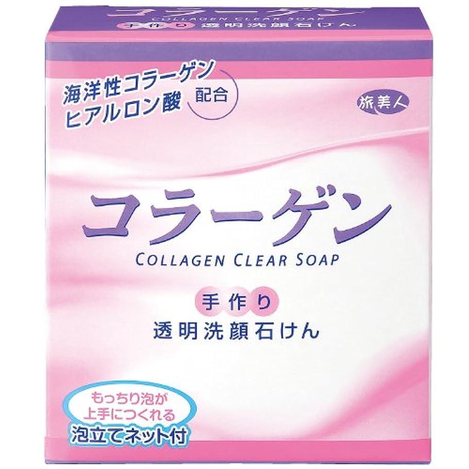 シード阻害するビジターアズマ商事の コラーゲン透明洗顔石鹸 手作り