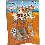 アイリスオーヤマ 犬用おやつ 骨型ガム Mサイズ 3本入