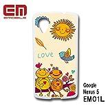 グーグル ネクサス5 google nexus 5 EM01L スマホケース カバー イラスト TK-7 EM01L-TK-7
