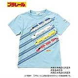 (サンカンシオン) 3can4on プラレール コラボTシャツ 58613500 12(120cm) ライトブルー(091)