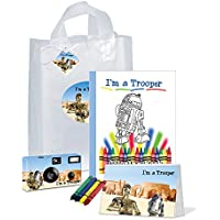 c3po & r2d2- I ' m a Trooperギフトバッグ–- Goodiesのフル。Be Brave。Be Strong。( pkg118)