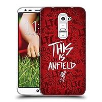 オフィシャル Liverpool Football Club レッド5 This Is Anfield ソフトジェルケース LG G2 / D800 / D802 / D801