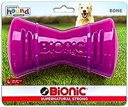 Outward Hound Bone LG Purple Dog Toy