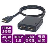 4K+3D+フルHD対応 HDMI 2分配器 ピグテイル型【HSP0102-3D】