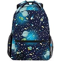 Kid Backpack Backpack School Bag Laptop Travel Bags for Kids Boys Girls Women Men Cute Galaxy Planets Stars Constellation Rockets