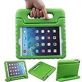 EVA素材 iPad Mini ケース, LEFON 児童 最軽量 耐衝撃 超耐久性 Apple iPadシリーズ 保護 ケース Apple iPad Mini 1/2/3, Apple iPad Mini 4に適します (For Apple iPad Mini 1/2/3, 緑色)