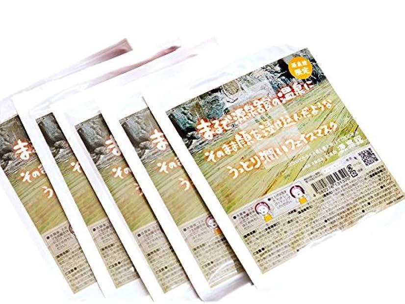 治療ペット羨望自然派温泉水使用◇源泉館◇【パック5枚セット】