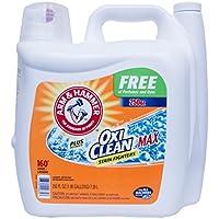 アーム&ハンマー 液体洗濯洗剤 プラスオキシクリーンマックス 無香料 無着色 7.39L