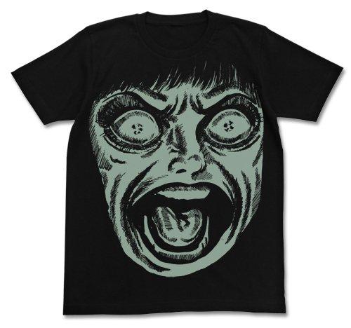 漂流教室 フェイスTシャツ ブラック サイズ:L
