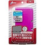 CYBER ・ プレミアムプロテクトカバー (New 3DS LL用) クリアピンク