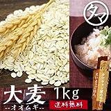 国産(九州産) 大麦(押し麦) 1kg