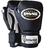 Farabi Kids Boxing Gloves, Junior Mitts, Junior MMA Kickboxing Sparring Gloves 4Oz Black