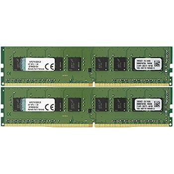 キングストン Kingston デスクトップPC用 メモリ DDR4 2133 (PC4-17000) 4GB×2枚 CL15 1.2V Non-ECC DIMM  288pin KVR21N15S8K2/8 永久保証