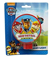 Paw Patrol Red Colored Shade回転ベースNight Light