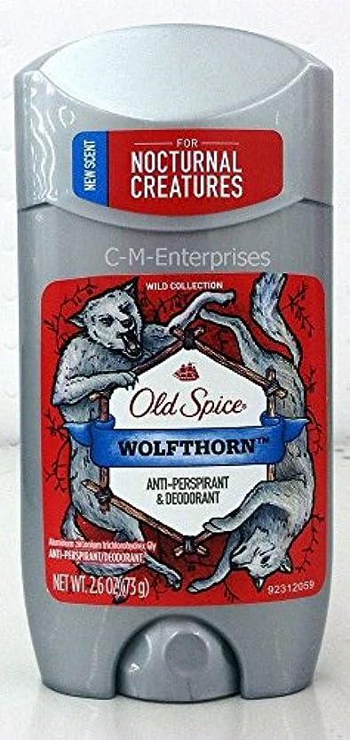 キリストバリケードスクラブ【アメリカ直送】オールドスパイス デオドラントスティック ウルフソーン 73g Old Spice WOLFTHORN Anti-Perspirant & Deodrant (0.26oz)
