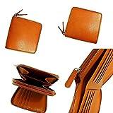 [ビームススクエア]BEAMZ SQUARE 財布 バッファローレザー製ダブルジップ折財布 メンズ BS-1679