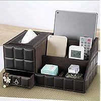 WTL かご?バスケット ナプキンポンピングカートン多機能ペーパータオルボックス木製デスクトップ創造的な収納ボックス (色 : A)