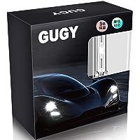 GUGY D1S HID バルブ 6000K 3800lm 12V 35W 3年保証 【車検対応用 純正交換用】【高輝度…