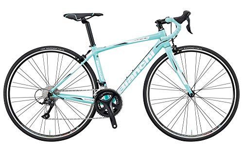 Bianchi (ビアンキ) ロードバイク VIA NIRONE 7 SHIMANO SORA 2019モデル (CK16 / W ・チェレステ) 53サイズ