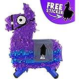 Aurabeam Loot Llama Party ピニャータ (紫色 Llama Piñata) メキシコで手作り