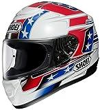 ショウエイ(SHOEI) バイクヘルメット フルフェイス QWEST BANNER【バナー】 TC-1 (RED/BLUE) XL (61cm)