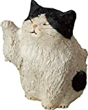 信楽焼 置物 まねき猫 幅8x奥9.5x高さ11cm 562-02