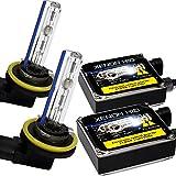 Unipower Electronics HIDコンバージョンキット H8/H9/H11/H16共用 55W 8000K 【1年保証】【Unipower B02+WUKE 3Gバルブモデル】【ゴールドリーフ オリジナル】