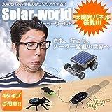 STARDUST ソーラー ワールド 太陽光パネル 虫 ゴキブリ 蜘蛛 バッタ ビックリ おもしろ 玩具 動く (Cタイプ) SD-SOWASO-C