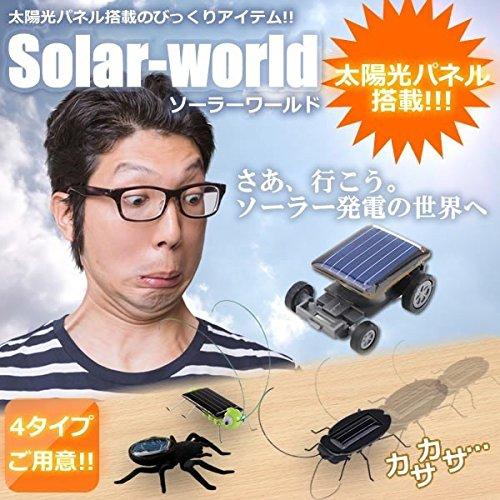 STARDUST ソーラー ワールド 太陽光パネル 虫 ゴキ...
