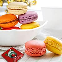 Ligong 100ピース自己粘着セロファンギフトバッグクリスマスOpp Treat Bags for Candy Cookie Biscuits、10 by 11 cm LIGONG-XMAS-DECOR-22
